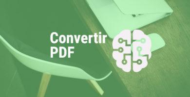 Pasar PDF a otros formatos