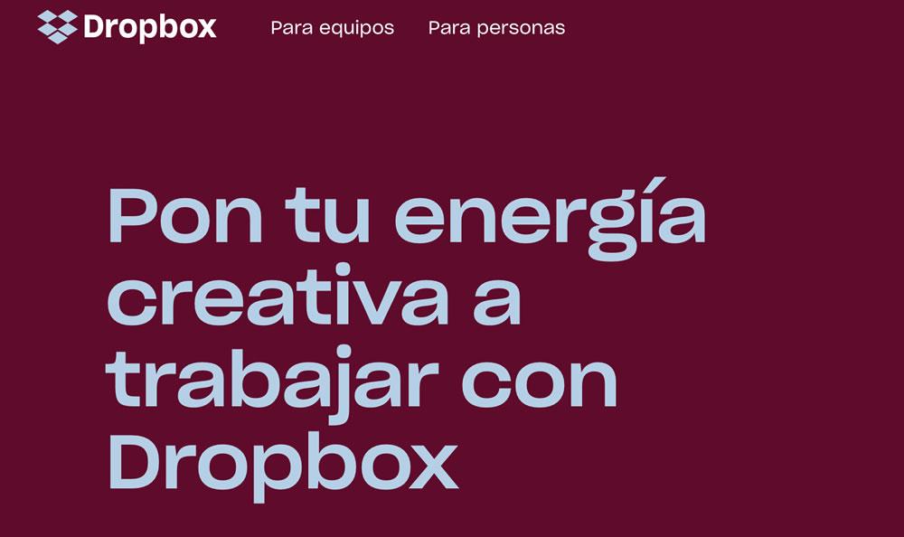 Cómo usar Dropbox