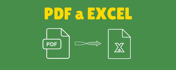 PDF a planilla Excel