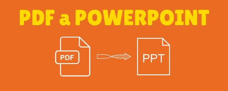PDF a presentaciones Powerpoint
