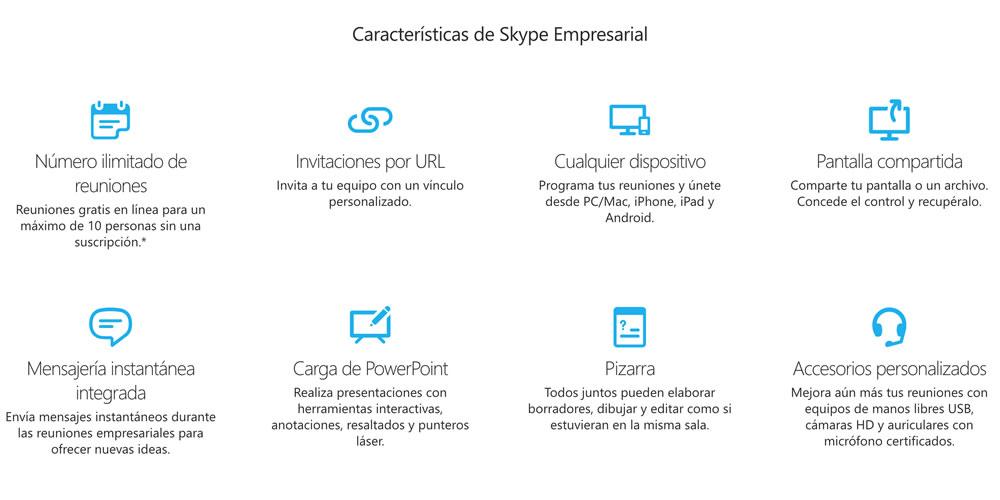 Cómo es Skype Empresarial