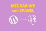 Migración de WP en Cpanel