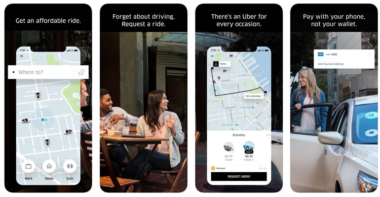 Registrarse desde la App de Uber