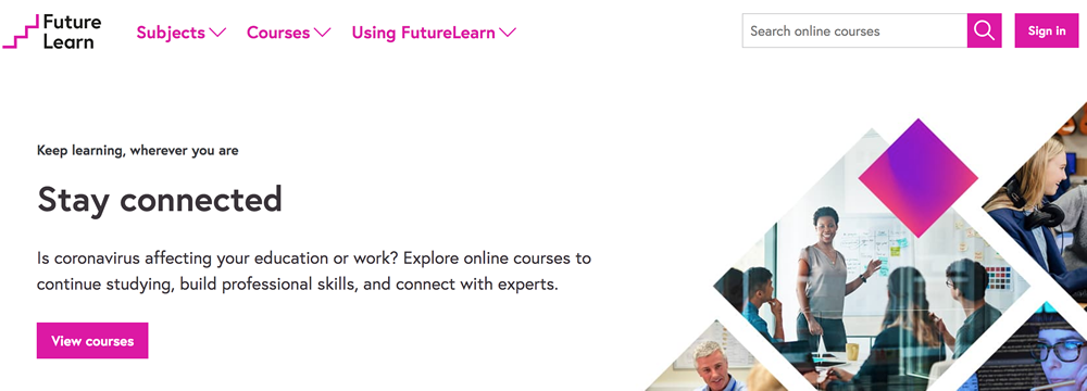 Future Learn - Plataforma online