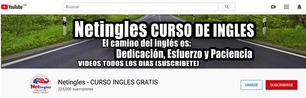 Curso Netingles online