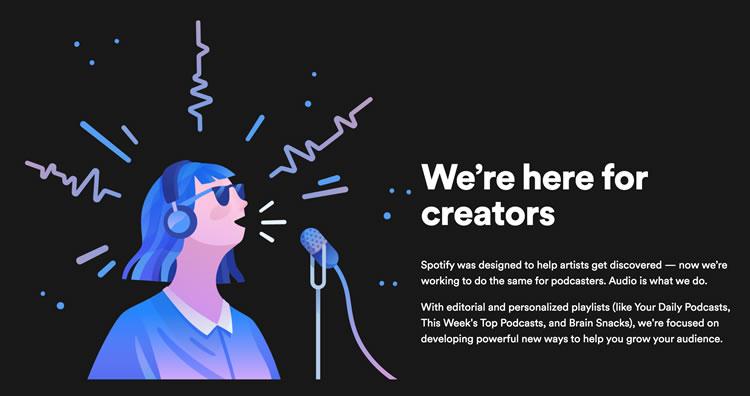 Para los mejores creadores de contenido