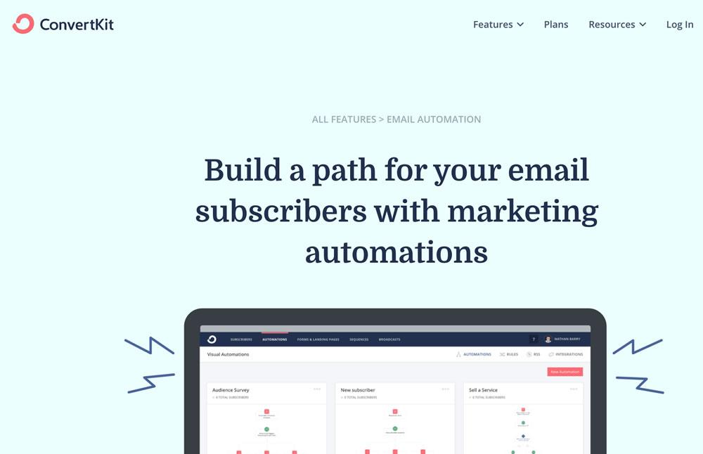 Automatización de envíos con ConvertKit