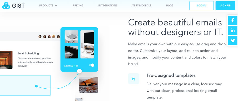 GIST - Email Marketing SaaS
