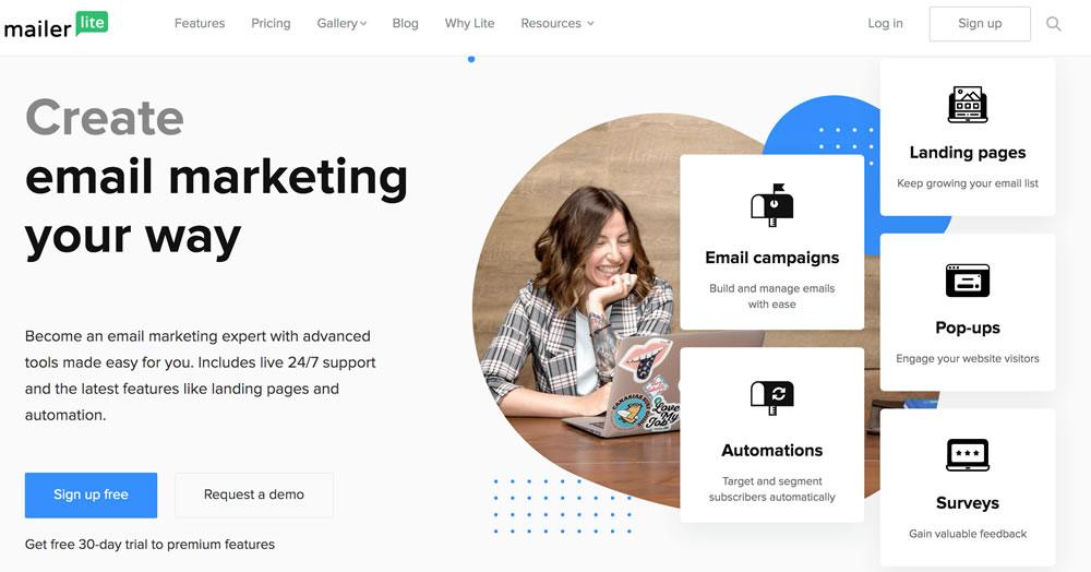 Personaliza tus campañas de email con Mailer Lite